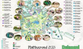Plattegrond park